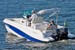lancha de pesca victory economia de Combustível e motorização