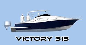 barco de pesca victory 315