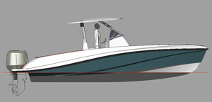 barco de pesca victory 245